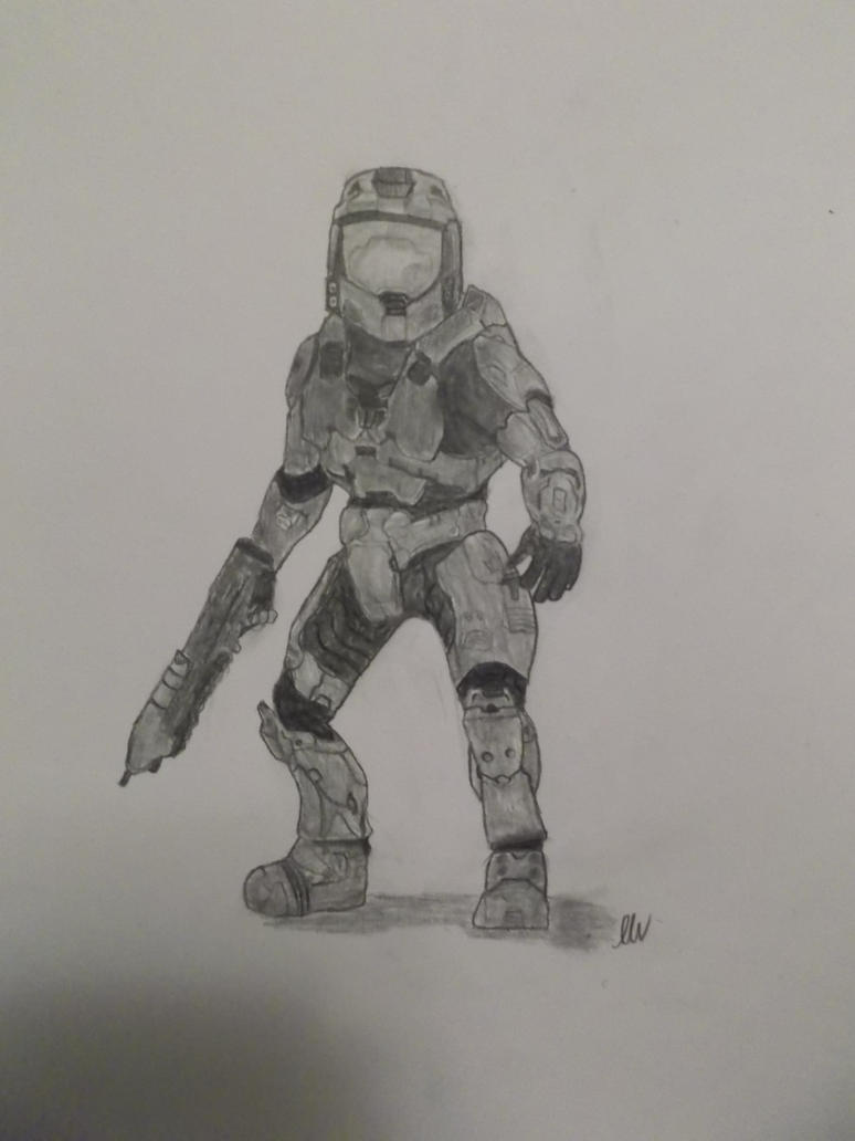 THE MASTER CHIEF by Foxeyes32