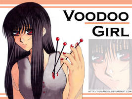 Voodoo Girl Wallpaper by Go-Angel