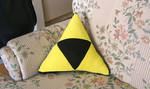 Triforce cushion