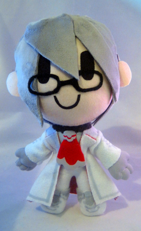 Bravely Default: Victor chibi plush by PlushMayhem