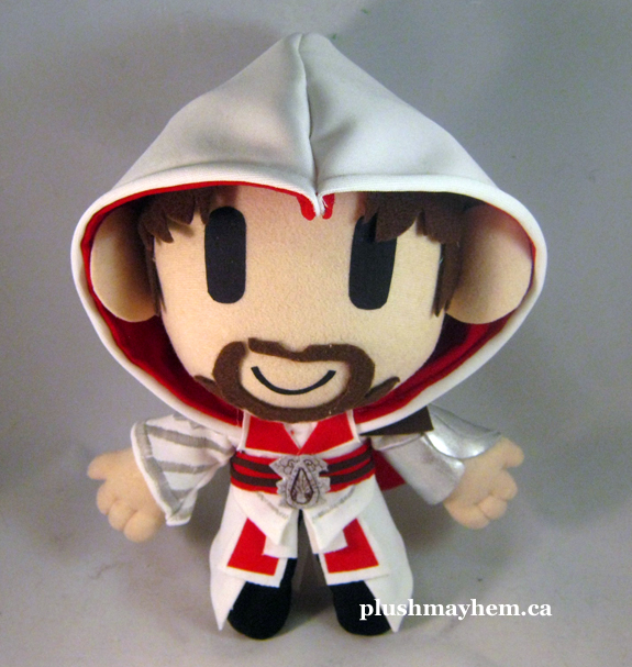 Ezio Auditore plush by PlushMayhem
