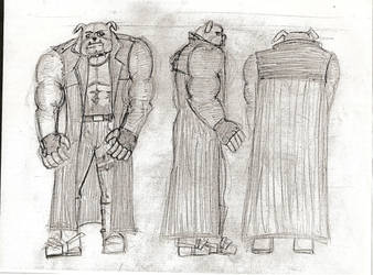 Mad Dog Turnaround sketch by Deepex007