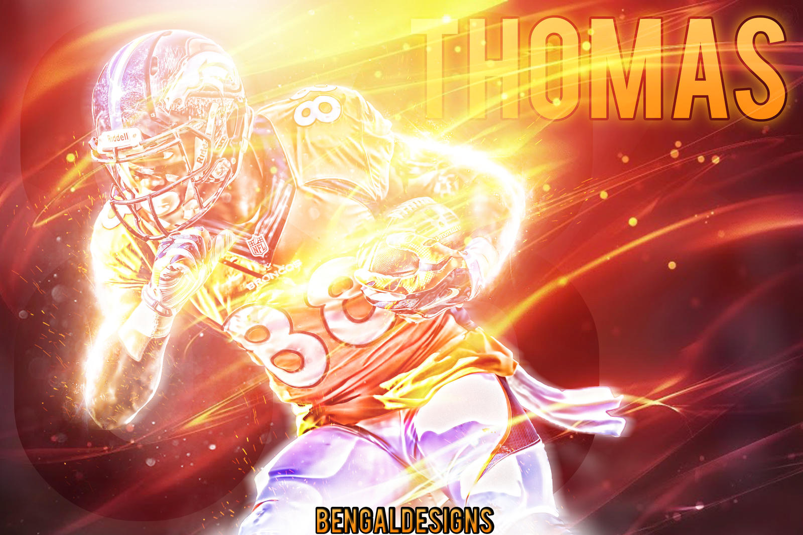 Demaryius Thomas Wallpaper by Bengal by bengalbro on ...Demaryius Thomas Wallpaper