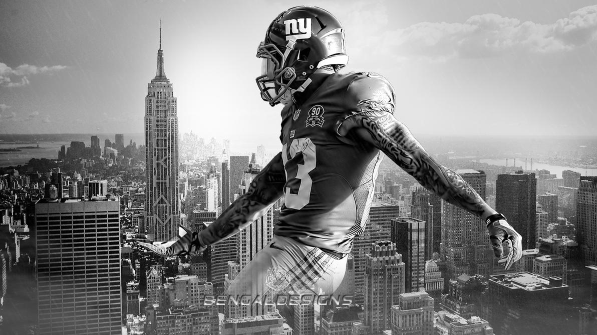 Odell beckham jr empire state wallpaper by bengal by for Odell beckham jr coloring page