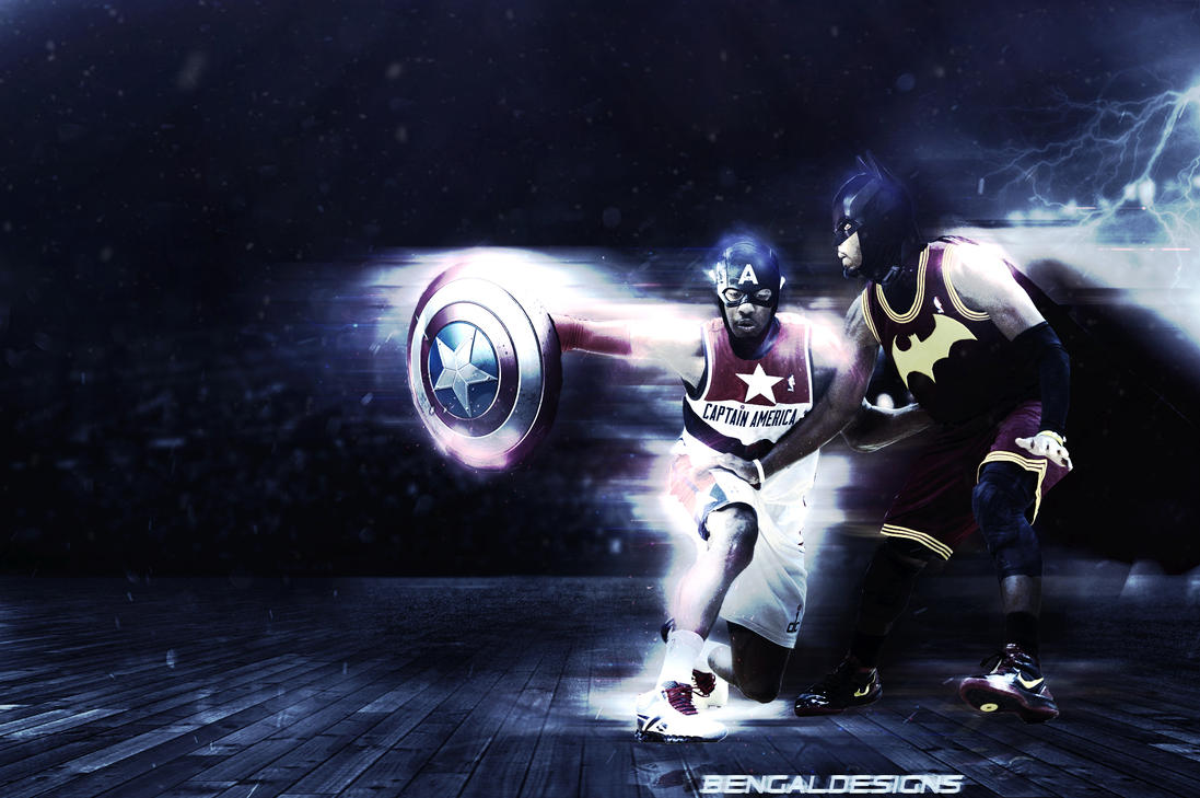 john wall kyrie irving wallpaper by bengaldesigns by