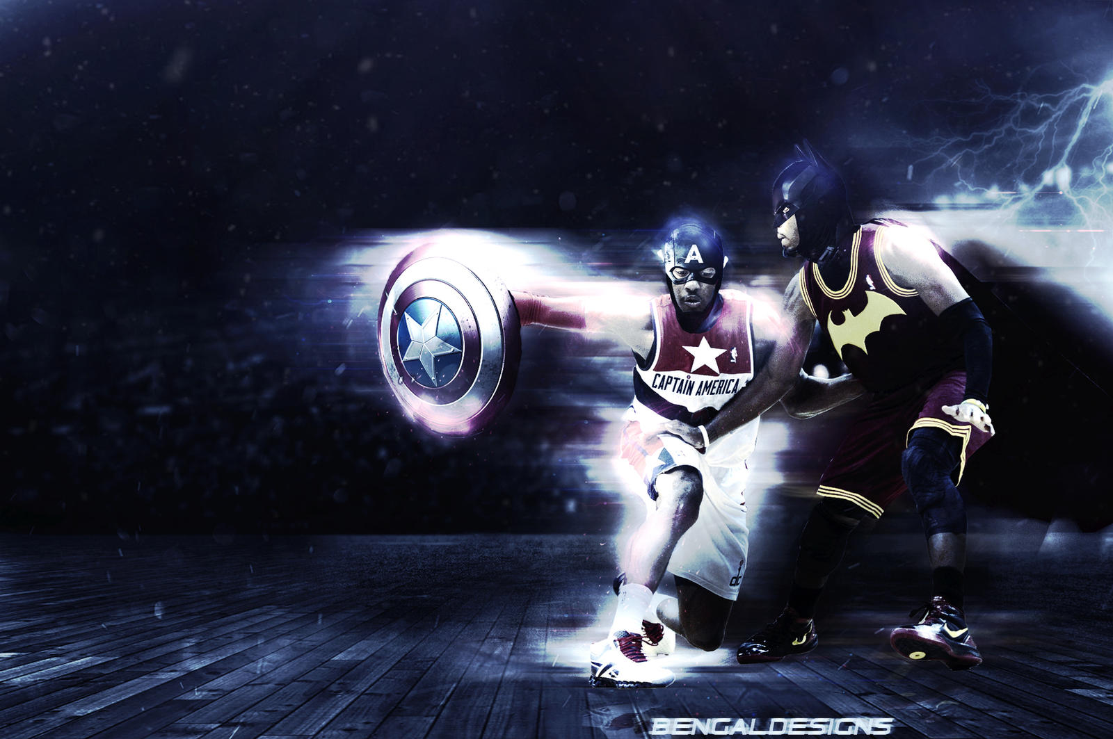 Must see Wallpaper Logo Kyrie - john_wall_kyrie_irving_wallpaper_by_bengaldesigns_by_bengalbro-d8txvg8  Best Photo Reference_866065.jpg
