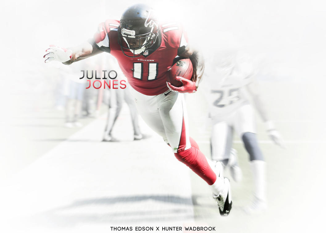 julio jones wallpaper by bengaldesigns and thomase by