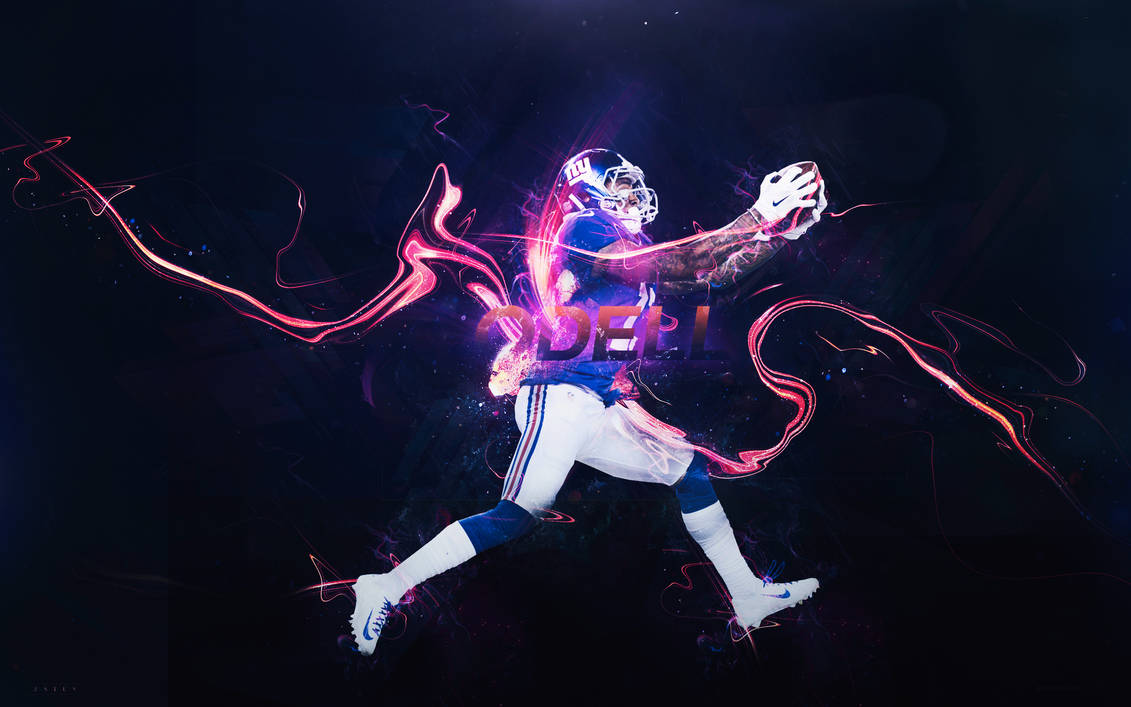 6189b4f3 Odell Beckham Jr. Wallpaper Color by BengalDesigns by bengalbro on ...
