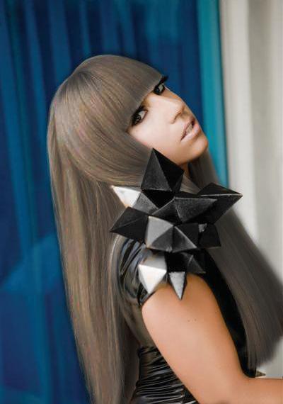 Lady gaga with brown hair by Oboemania on DeviantArt