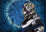 Vetra- Mass Effect Andromeda Fan art