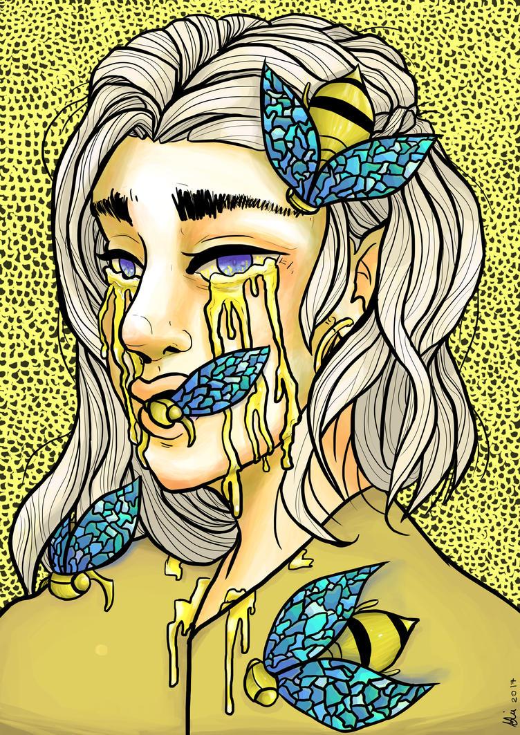 Honey by Drawthulu