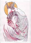Bloodborne Fanart - Vicar Amelia