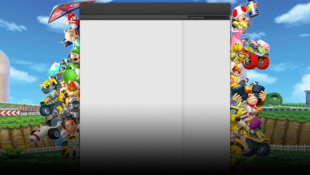 Mario Kart 8 Background: Mario Kart 7 YouTube Background By AnimeLova56 On DeviantArt