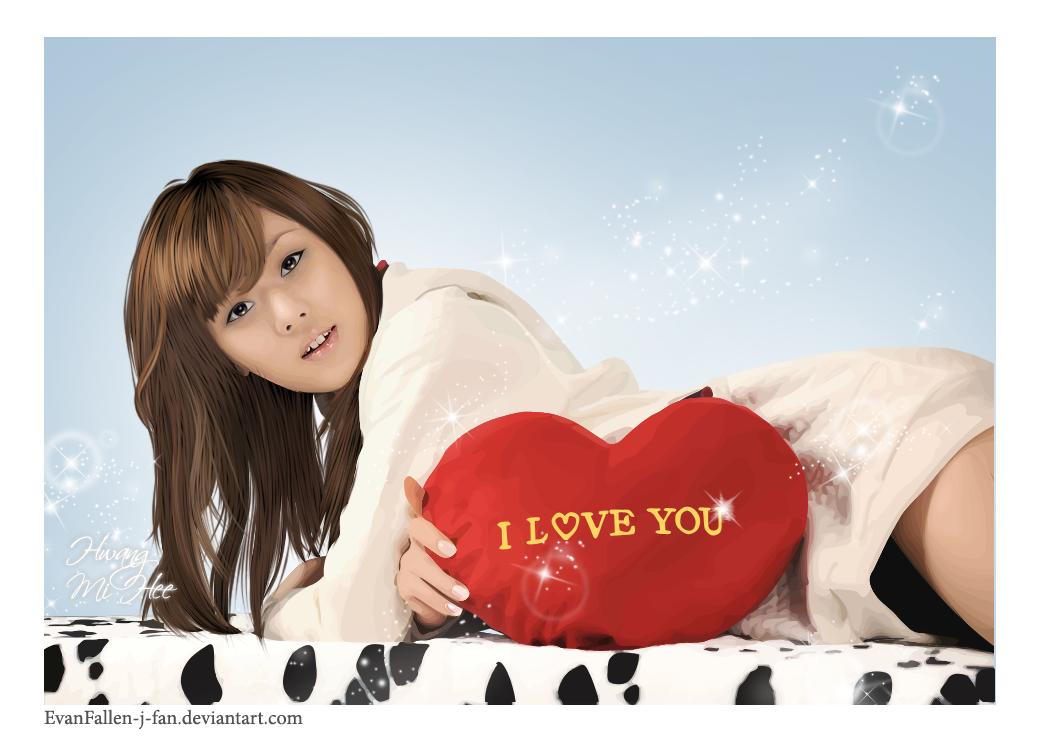 Hwang Mi Hee Love You by EvanFallen-J-Fan