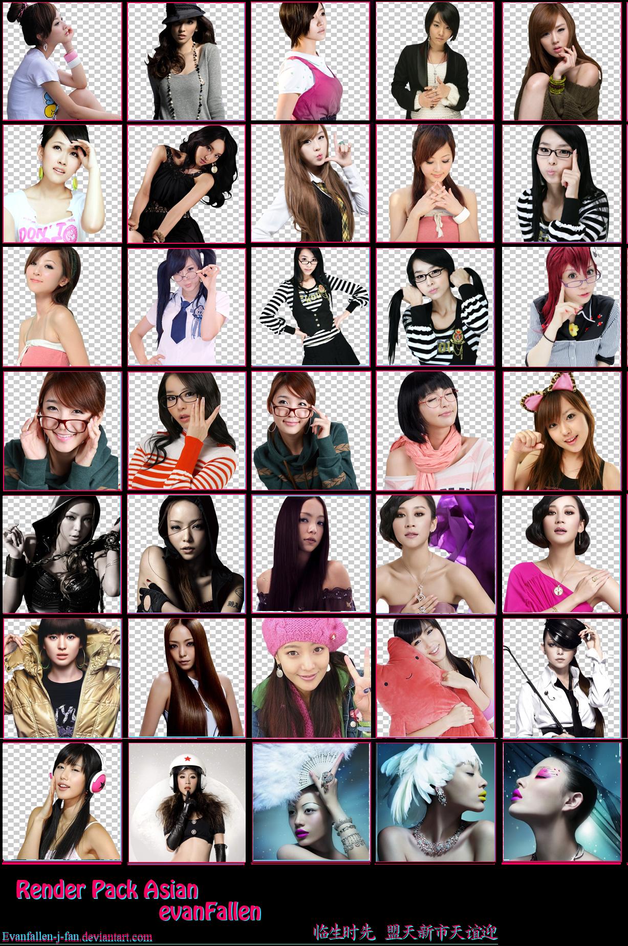 Women Asian Renders 2 36b7f8f6f9c385d8c265862ad61d282b