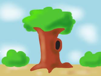 Sketchbook challenge #1 - Tree