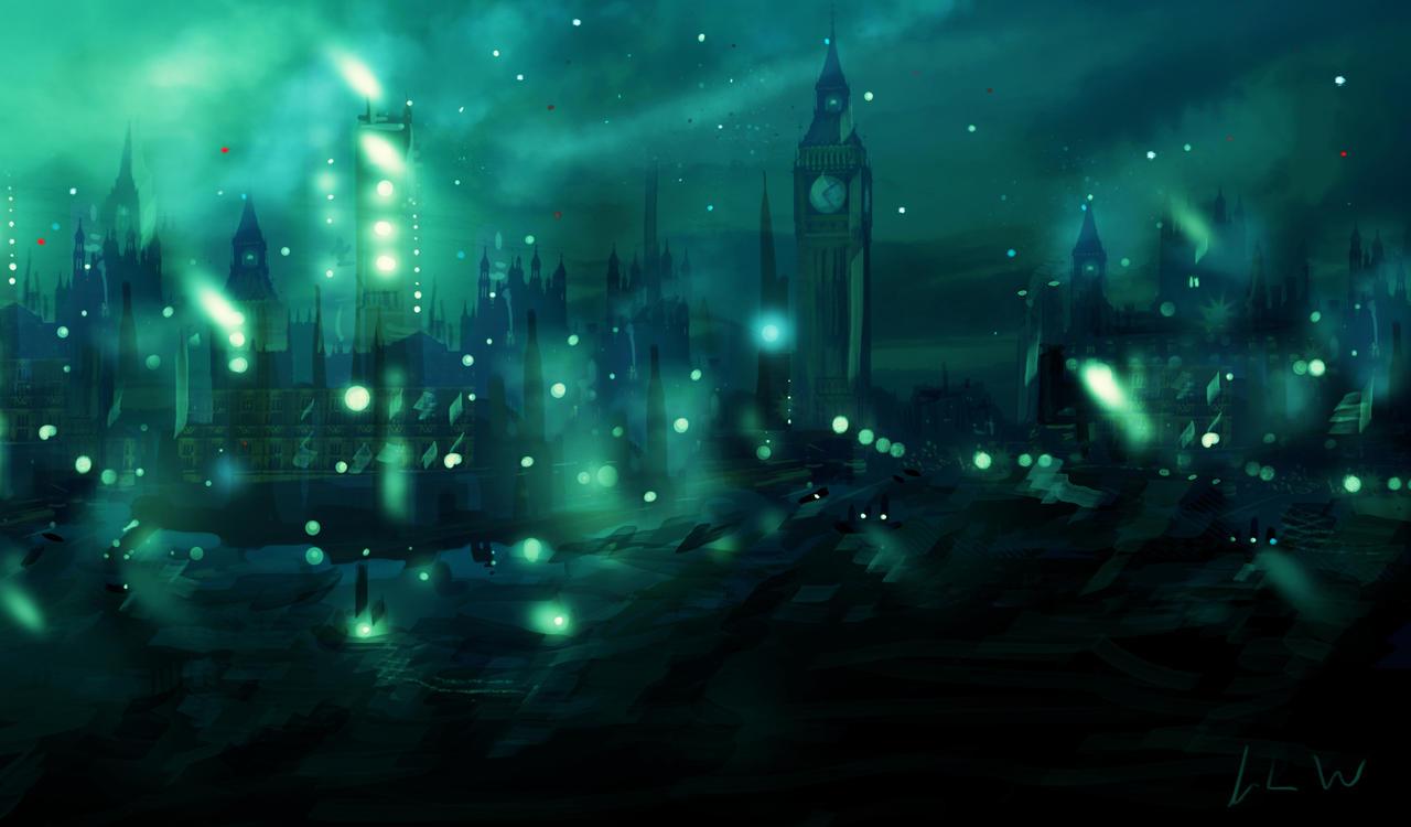 London Blue by izzyleidlwilson