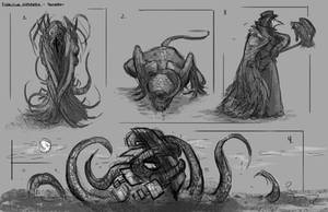 Eldritch Horror Thumbnails by izzyleidlwilson