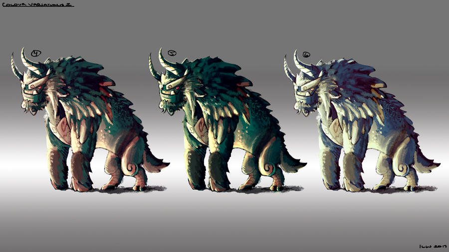 Monster Design - Ogre 02 by izzyleidlwilson