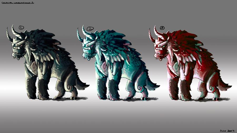 Monster Design - Ogre 01 by izzyleidlwilson