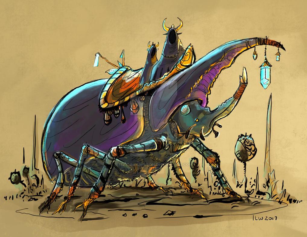 Beetle Passengers by izzyleidlwilson