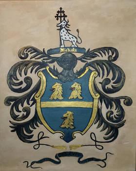 Nichols' Family Crest