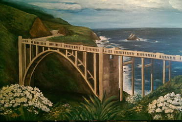 Big Sur - Bixby Canyon Bridge