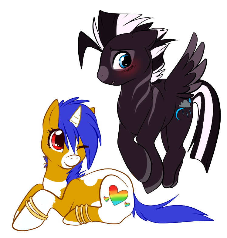 Shy Pony :PC: by SmokeFlare
