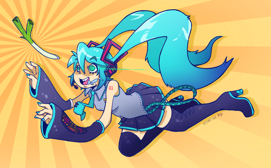 miku by Cuboidal
