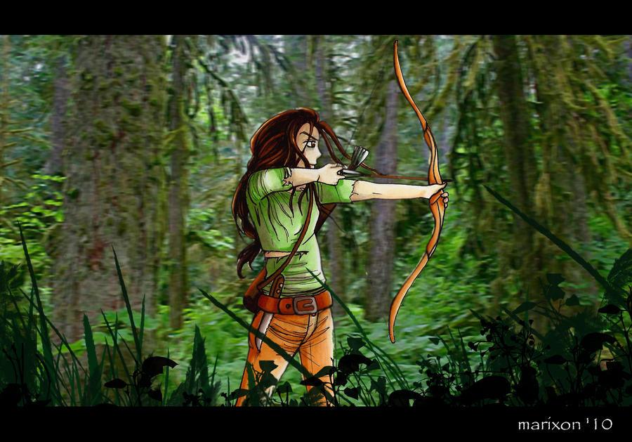 Katniss Fan Arts! _katniss_everdeen__by_marixon-d30mki7