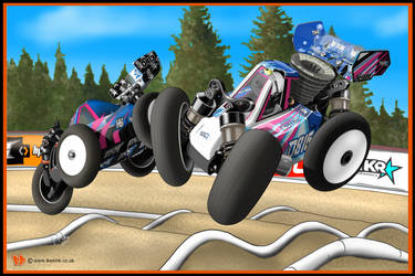 RC Hotbodies Cartoons D815 and D413  models by PIKEO