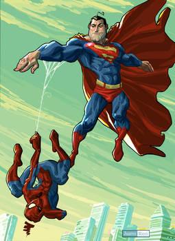 Super meet Spider