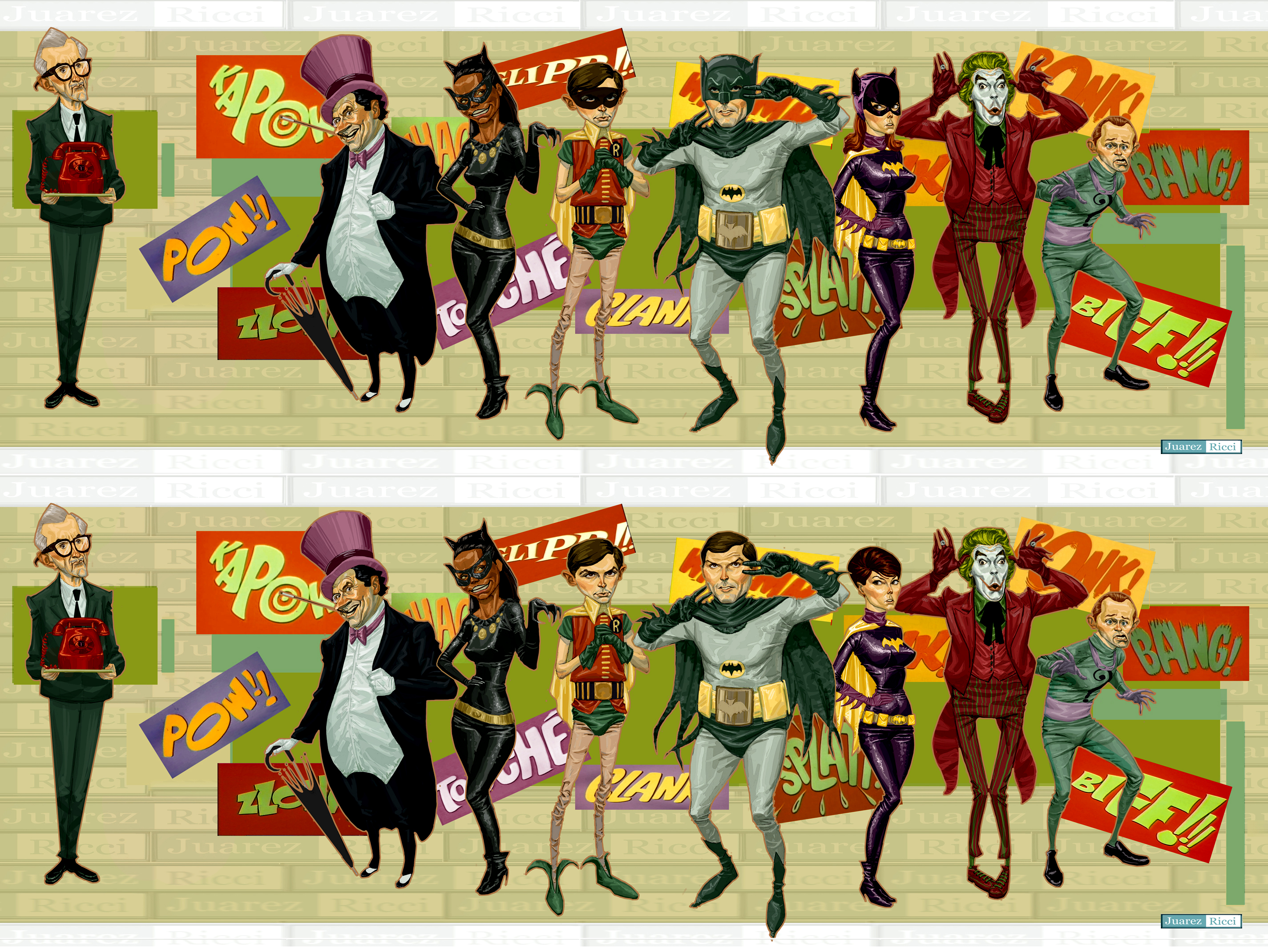 Batman 60's by juarezricci