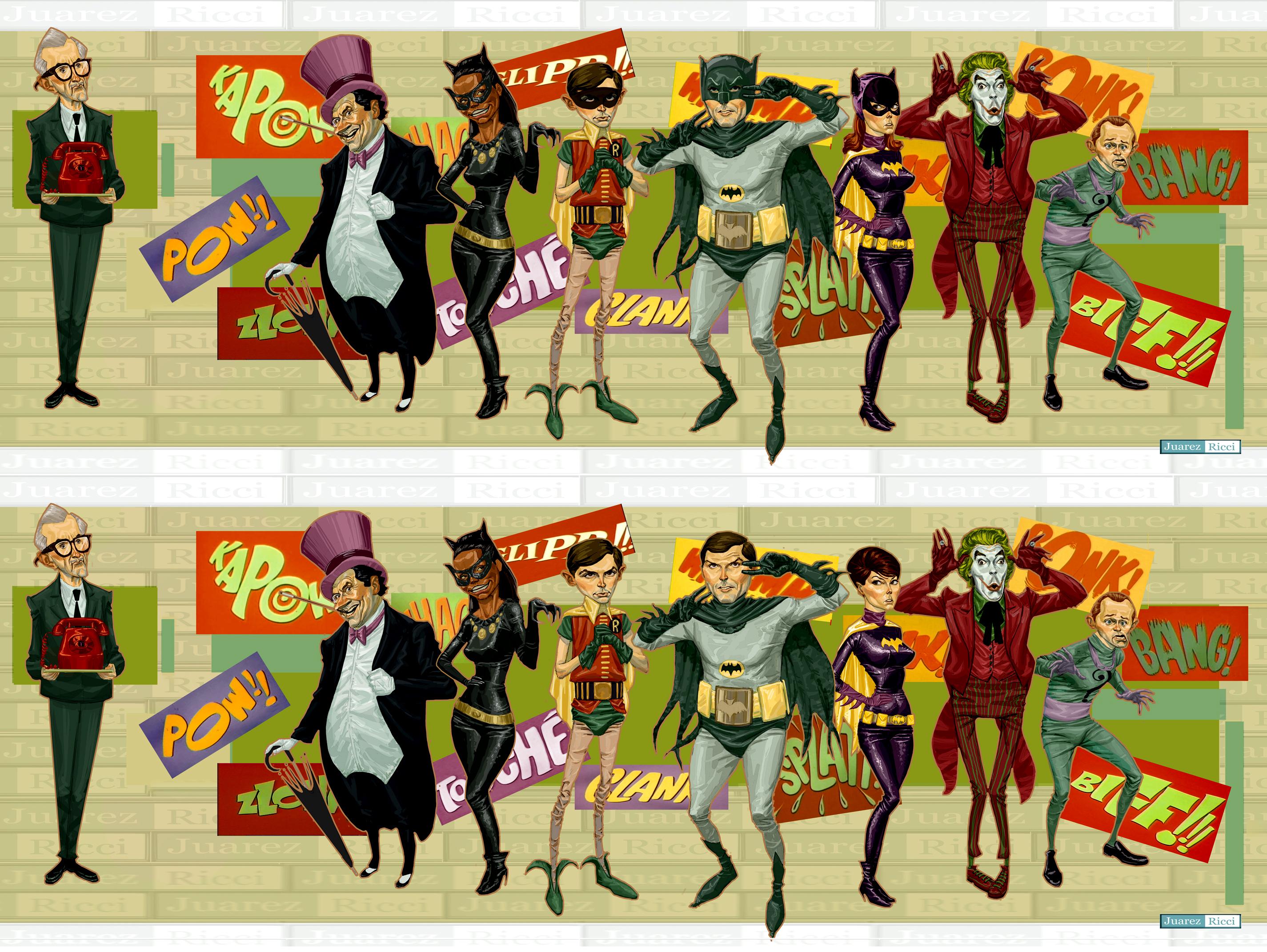 Batman 60's by juarezricci