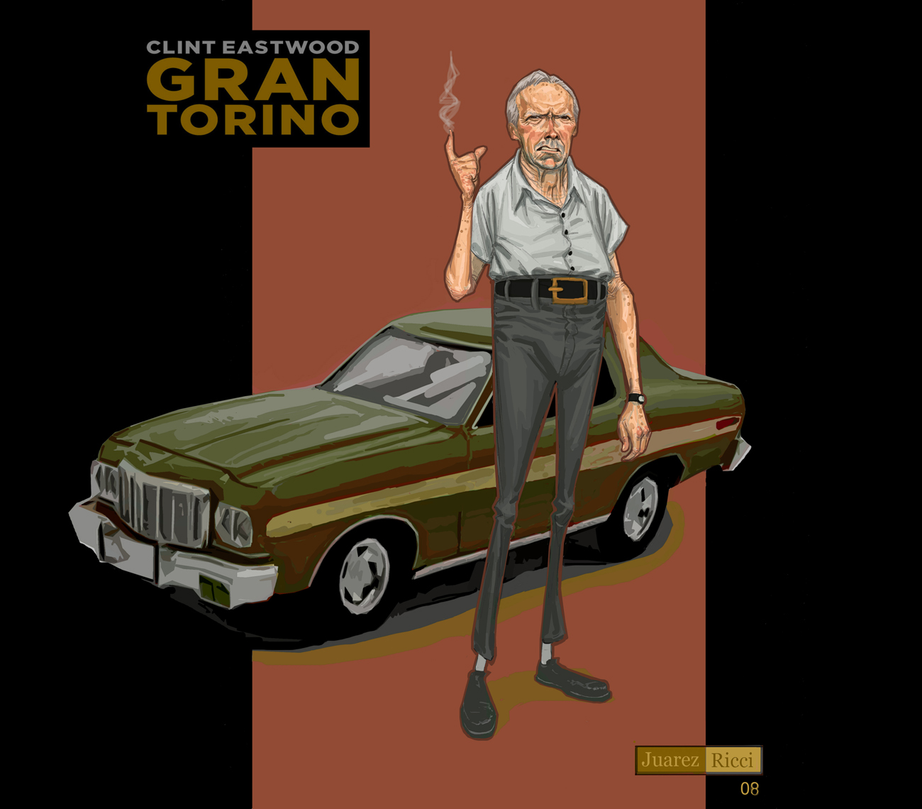 an analysis of the movie gran torino directed by clint eastwood Lectured by professor gleberzon, phd  clint eastwood dispels the myth of ageism and illustrates he still has the right stuff in the movie, gran torino (2008) the.