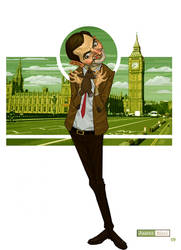Mr. Bean by juarezricci