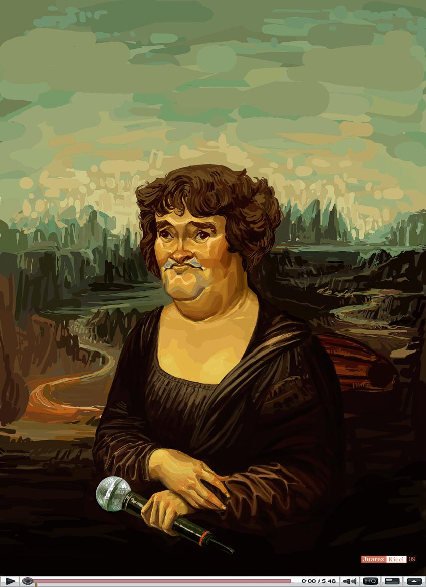 Susan Boyle by juarezricci