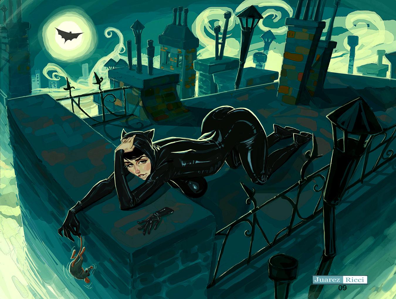Catwoman by juarezricci