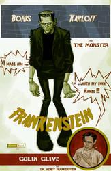 Frankenstein by juarezricci