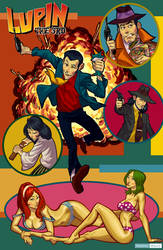 Lupin the Third by juarezricci