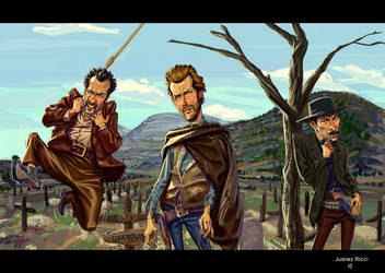 the Good the Bad and the Ugly by juarezricci