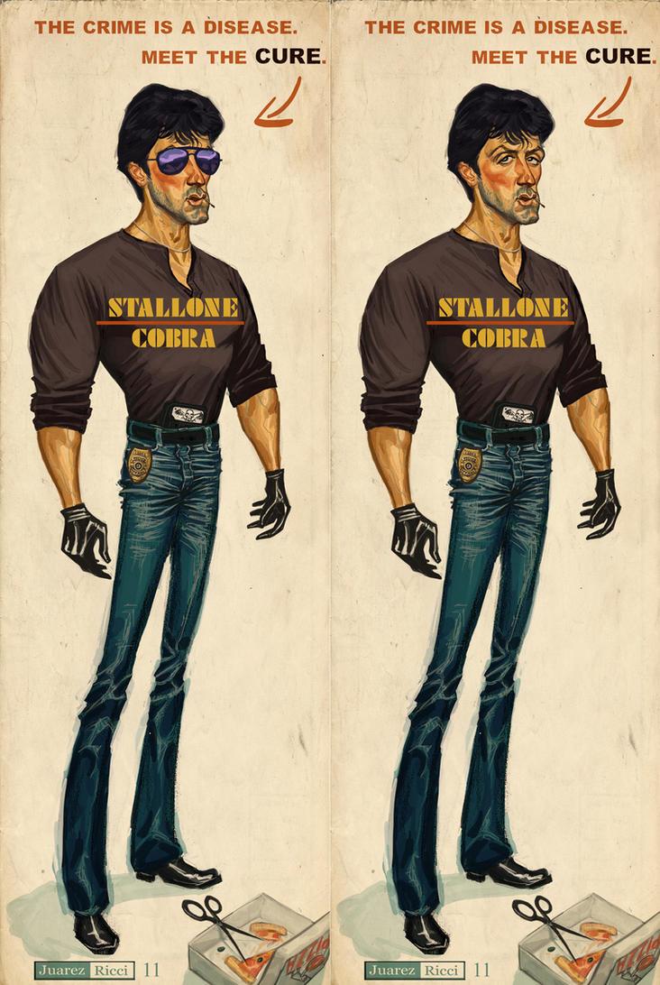 Stallone Cobra by juarezricci