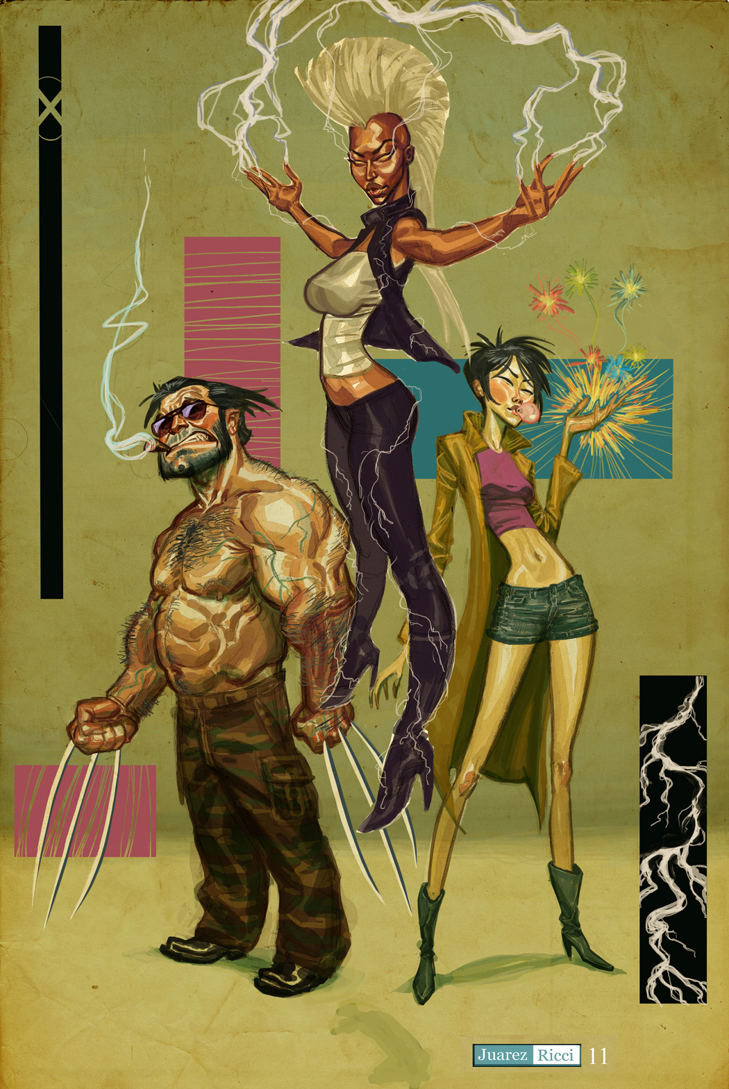 Wolverine Storm Jubilee by juarezricci