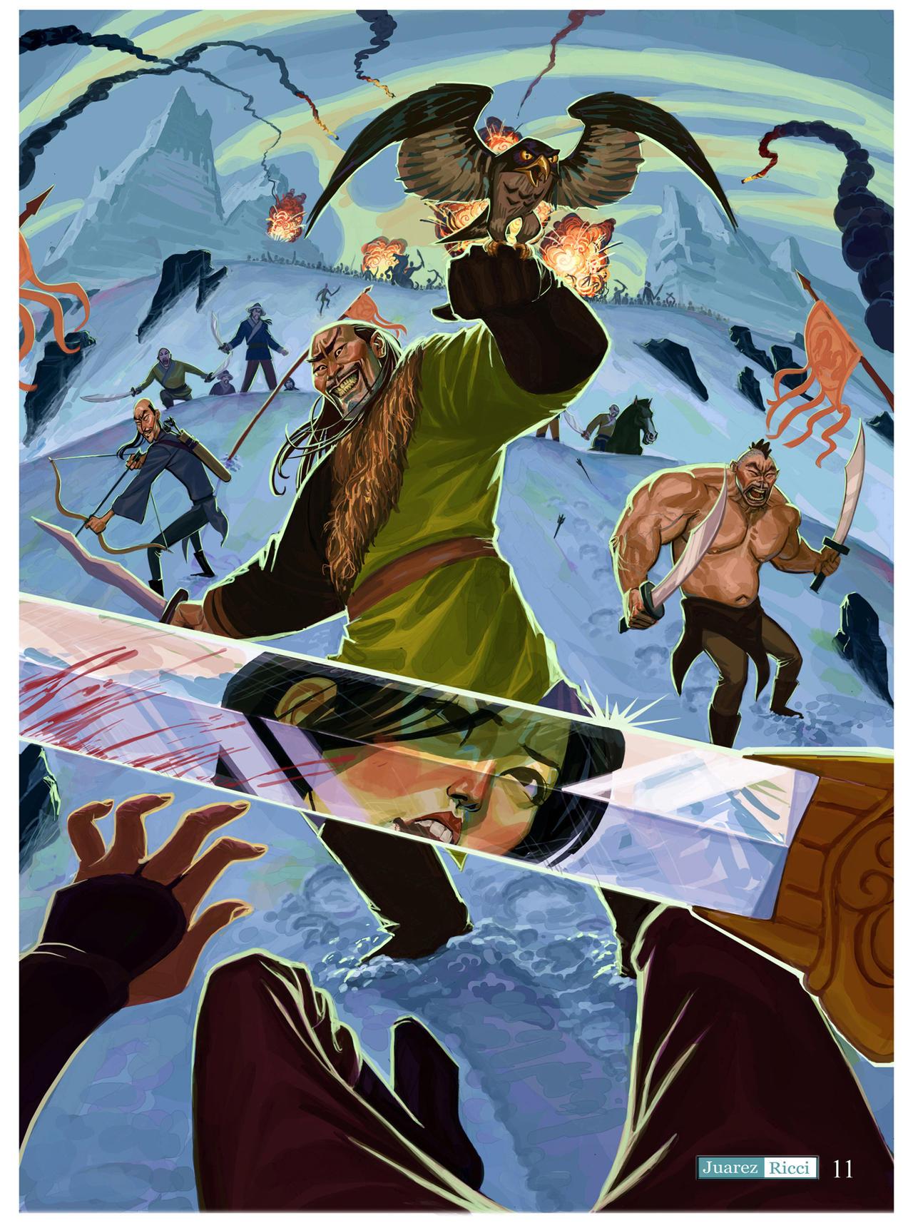 Mulan by juarezricci