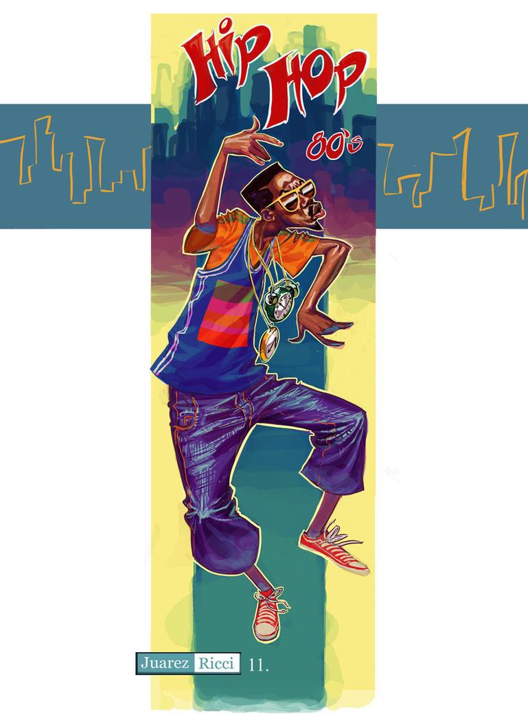 Hip Hop 80s Hip hop 80's t-shirt by