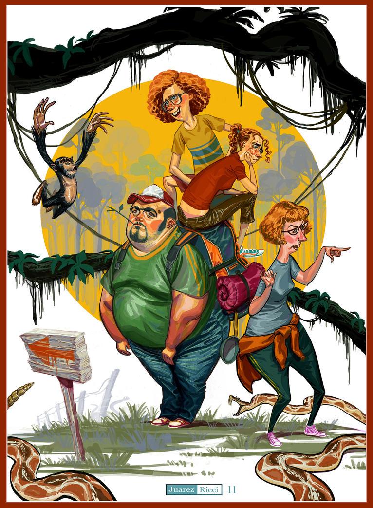Adventure Book by juarezricci