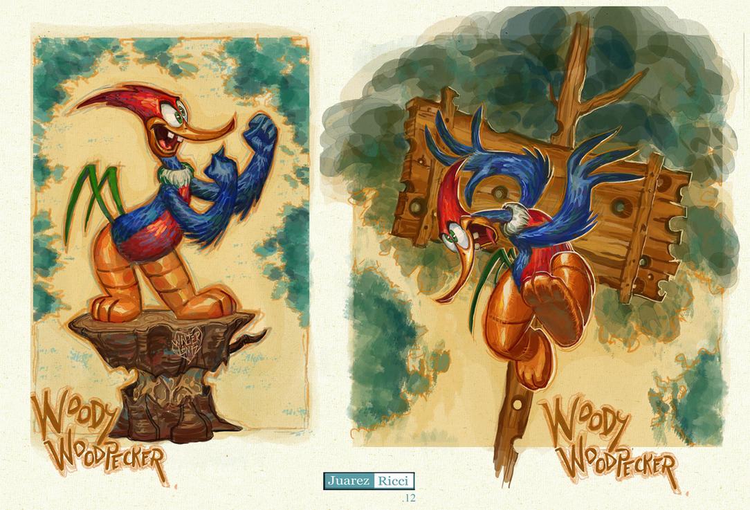 Woody Woodpecker by juarezricci on DeviantArt | 1083 x 737 jpeg 265kB