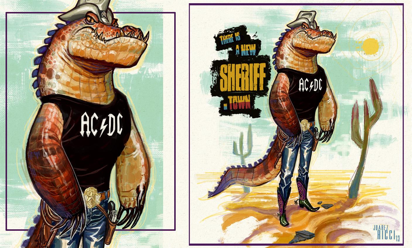 Sheriff Croc by juarezricci