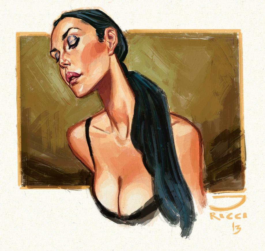 Monica Bellucci by juarezricci