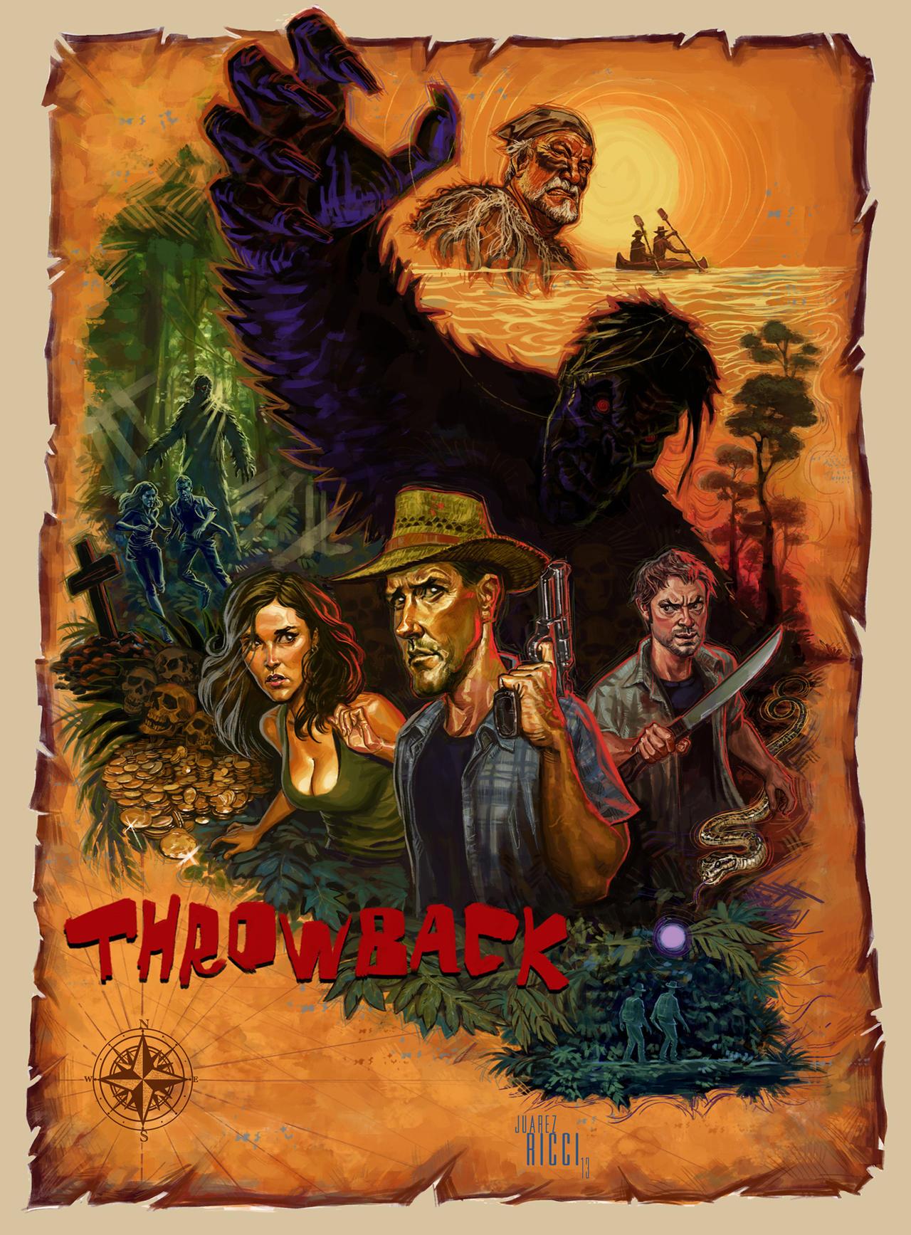 THROWBACK movie poster by juarezricci